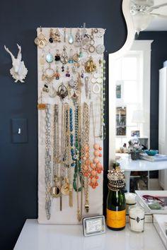 Jewelry board.