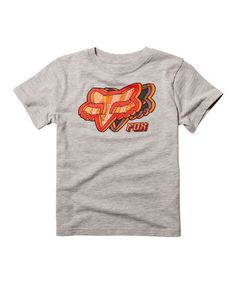 Another great find on #zulily! Heather Gray Night Break Tee - Boys #zulilyfinds