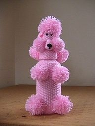 crochet poodle bottle covers - Google Search I used to have one LOL