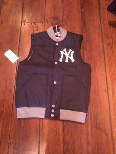 9b3857598ab Retro New Yok Yankees Mens Mitchell   Ness bubble vest. Bubble VestNew York  YankeesBaseball