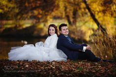 #nancyavon from www.bit.ly/jomfacial Sharing a light moment with your love dear! E&K -  autumn by MariuszOpiela