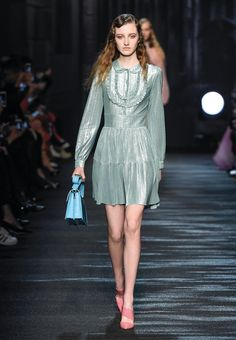 Moonlit Nocturne • Blumarine Fall Winter 2016/17 Fashion Show Collection #mfw