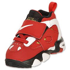 Nike Air Diamond Turf 2 Toddler Shoes  Red/White/Gold/Black