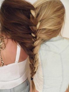 best friends braid