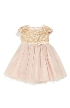 Free shipping and returns on Dorissa Tulle Sequin Dress (Baby Girls) at Nordstrom.com. A sparkly tulle skirt adds to the festive charm of a short-sleeve, sequin-spangled dress.