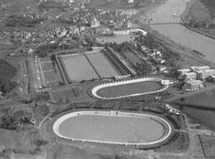 Descrizione: Foro Mussolini, (attuale Foro Italico) Stadio dei Marmi e Stadio dei Cipressi, futuro Stadio Olimpico Anno: 4-11-1932