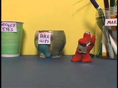 """Clay Hero - a stop motion animation from """"The Klutz Book of Animation"""" - YouTube"""