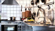 #industrial  #kitchen by  #ikea