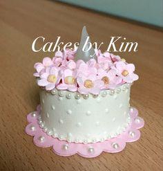 """""""Strawberry Cream"""" Tea Light Cake (made by Kim)"""