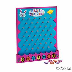 Easter Disk Drop Game