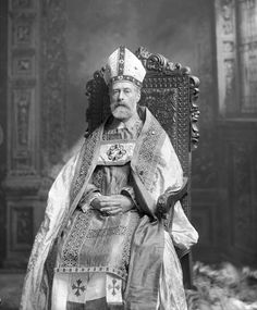 Montagu William Lowry-Corry, 1st and last Baron Rowton (1838-1903) as Archbishop of canterbury