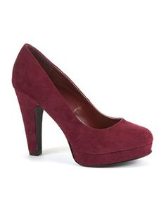Deep Red (Red) Deep Red Platform Court Shoes | 261063262 | New Look