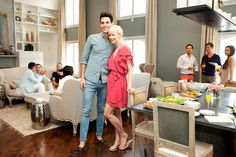 Seriously? How cute is this. Erin Fetherston and BF Gabe Saporta from Cobra Starship in Erin's Tribeca Pad