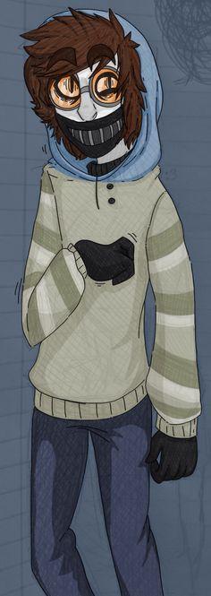 Ticci-Toby by CannonicalGhoul.deviantart.com on @deviantART >>> Should I draw him? :3