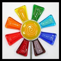 Glassworks noroeste arco iris brillante por glassworksnorthwest