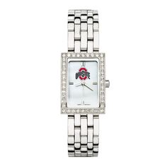 OHIO STATE UNIV LADIES ALLURE WATCH STAINLESS BRACELET
