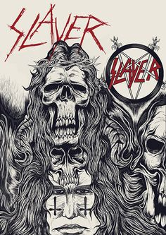 Slayer tribute on Behance