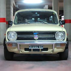 The Mini Clubman found in Massafra, Italy. A fine example of the British estate car from the 80s.