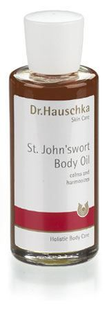 Almond St. Johnswort Body Oil by Dr.Hauschka - better than aloe vera for after sun care