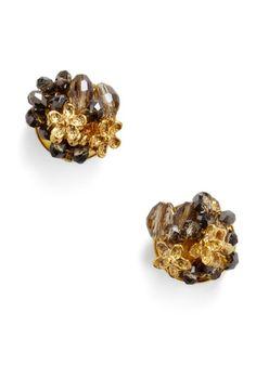 Floral Fantasy Earrings | Mod Retro Vintage Earrings | ModCloth.com - StyleSays
