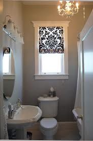 #Small Window,# Big Statement window coverings for bathroom windows