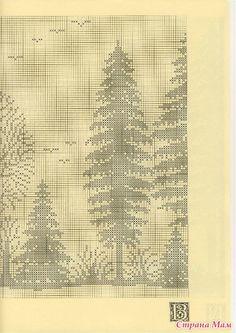 Шикарная штора(филейное вязание) - Все в ажуре... (вязание крючком) - Страна Мам