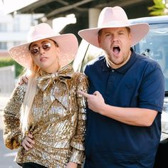 """#LadyGaga tweeted a photo of her alongside #JamesCorden to spread the news Friday night that she is the next pop star to participate in a round of #Carpool #Karaoke"""" on The Late Late Show.#Gaga and #Corden sported matching hats in the photo that she posted with the accompanying caption """"Had a lil fun with @JKCorden #jkcorden today!"""" The segment was reportedly taped Friday night and might air later this month. Gaga is also gearing up for Super Bowl 2017 where she will take over the half time…"""
