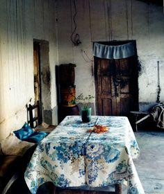 vintage oilcloth