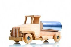 Tanker truck Wooden toys Montessori eco-friendly toy for boys Handmade wood lorry Birthday gift idea for kids activity Unique christmas gift Unique Birthday Gifts, Christmas Gifts For Kids, Toys For Boys, Kids Toys, Toy Tanks, Toy Garage, Eco Friendly Toys, Activity Toys, Learning Toys