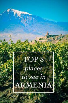 Top 8 places to see in Armenia, armenia tour