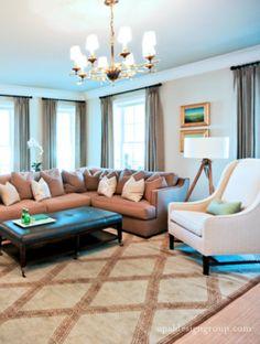 The Legacy House - traditional - living room - salt lake city - Opal Design Group
