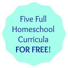 Five Full Homeschool Curricula For Free | Indy Homeschool