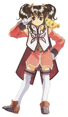 Tales of the Abyss - Anise Tatlin by Kosuke Fujishima