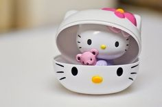Oh, Sanrio--say it's not so! Hello Kitty is not actually a cat. She's a human girl.