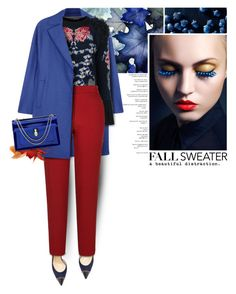 Fall Sweater by anna-anica on Polyvore featuring polyvore fashion style Temperley London Harris Wharf London River Island Christian Louboutin Bulgari WALL clothing