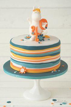 Mumin Snork cake | Astrid Ro's Werkstatt