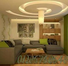 Living Room Ceiling Design Delectable Contemporary Pop False Ceiling Design With Led Lights For Living Design Decoration