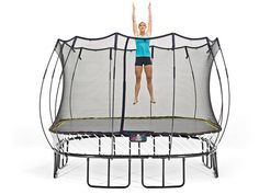 Trampoline workout: Tighten and tone your torso and lower body! This is my kind I workout!! It's perfects since We just set up our trampoline!!