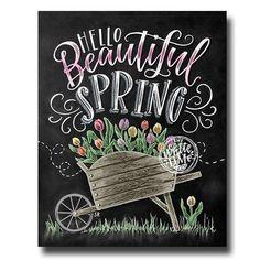 2019 Diy Diamond Painting Kits Board Word Home Decor Blackboard Art, Chalkboard Print, Chalkboard Lettering, Chalkboard Designs, Chalkboard Decor, Chalk Fonts, Spring Sign, Spring Art, Spring Drawing