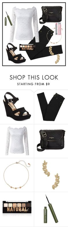 """""""Untitled #315"""" by kaira54321 ❤ liked on Polyvore featuring American Rag Cie, Yves Saint Laurent, Karl Lagerfeld, LC Lauren Conrad, Eddera, NYX and Christian Dior"""
