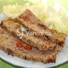 Sváteční masová sekaná recept - Vareni.cz Sandwiches, Paninis