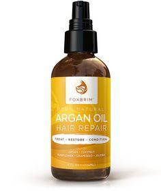 Argan Oil Hair Repair , Natural Oil - Foxbrim, Foxbrim - 1