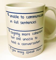 Humourous Coffee Mug by GingerPatchCrafts on Etsy