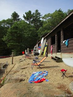 Life in the 02873!  The Medicine Bow Waterfront at Camp #Yawgoog.  A 2015 image by David R. Brierley.