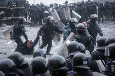 Unruhen in der Ukraine: Straßenkampf in Kiew