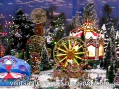 mini christmas towns - Google Search