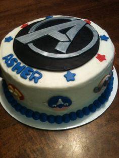 Avengers Cake | Honey Hush Cakery: Avengers cake