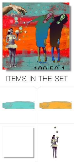 """""""Burnt-Out Social Workers"""" by larosita ❤ liked on Polyvore featuring art"""