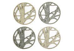 Molly M Designs: branch coasters