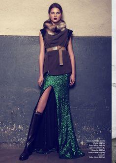 Fashion Editor: Ana Nechita Amelian. Photography by Stefan Dani.